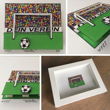 Goal – 3D Konstruktion